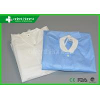 Buy cheap Medical White / Blue / Yellow / Doctor Disposable Clothes / Garments For Hospital from wholesalers