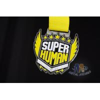 Buy cheap Zinc Alloy Iron Or Brass Race Finisher Medals Custom Design Die Struck Process from wholesalers