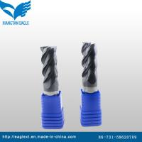 Buy cheap Solid Carbide End Mill Tools with 4 or 6 Flutes from wholesalers