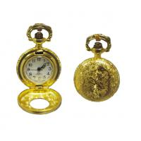 Buy cheap Gold Plating Metal Gentleman Pocket Watch With Japan PC Movt from wholesalers