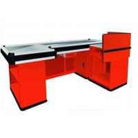 Buy cheap Supermarket Checkout Counters With Transport Tape , Custom Stainless Steel Countertops from wholesalers