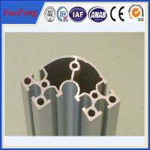 Buy cheap electrophoretic aluminum profile manufacturer OEM aluminium t-slot extrusion profiles from wholesalers
