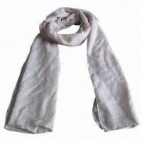 Wholesale Cashmere-like Scarf, Customized Specifications are Accepted, Measuring 67 x 178 + 10 x 2cm from china suppliers