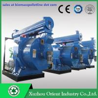 CE Approved Patent High Capacity Horizontal Ring Die Wood Pellet Mill Machine Manufactures