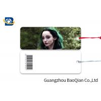 Wholesale Giveaway Gifts Laminated Bookmarks , Bookmark Printing Services Super Hero Girls Pattern from china suppliers