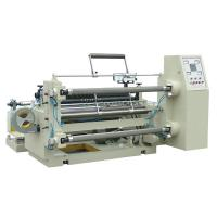 Buy cheap PLC air shaft high speed slitting and rewinding machine for non woven fabirc product