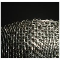 Wrapped Edge Stainless Steel Crimped Wire Mesh For Petroleum / Chemical Manufactures