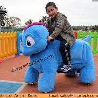 Buy cheap Outdoor Electronic Commercial Playground Equipment Zippy Rides Coin Operated Animal Rides from wholesalers