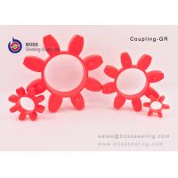 Buy cheap GR profile PU material elastic spiders for shaf coupling blue red green yelow color from wholesalers