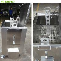 Buy cheap Movable Kitchen Soak Tank With Casters And Brake Heating Optional product