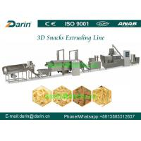 China High Efficiency Automatic 3D Pellet Snack Extruder Machine Process Line on sale
