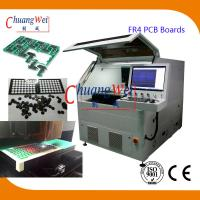 15W UV Laser PCB Depanelization Machine ±20 μM Precision For FR4 PCB Boards Manufactures
