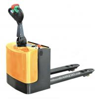 Buy cheap Small Electric Pallet Truck With High Performance Hydraulic Pump Low Noise from wholesalers