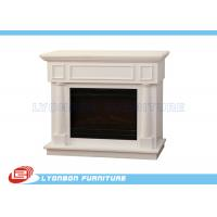 Buy cheap Durable White Interior Room Decor MDF Fireplaces 1125mm * 320mm * 930mm from wholesalers