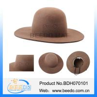 Buy cheap Indian military cap hat with 100% wool double felt from BEEDO factory from wholesalers