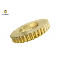 Buy cheap Anodized Stamping Brass Worm Small Spur Gear from wholesalers