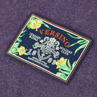 Buy cheap Terylene Fabric Woven Neck Labels Polyester Woven Sewing Labels Tags from wholesalers