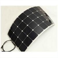 Wholesale Lightweight Flexible Marine Solar PanelsBlack Frame 3% Output Power Tolerance from china suppliers