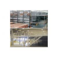 Buy cheap Industrial shelving racks - mezzanine floor, steel shelving racks, 1000kg/square meter from wholesalers