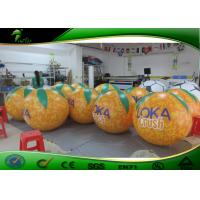 Buy cheap PVC Orange Inflatable Fruit Balloon For Advertising / Inflatable Orange Balloon For Events from wholesalers