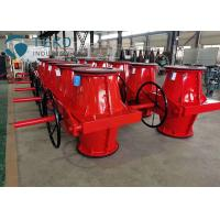 Buy cheap Red Valve Regulating Open Body Pinch Type Control Valve For Mining from wholesalers