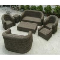 Buy cheap Chinese PE Rattan Table Set Plastic Rattan Furniture for Eco Garden Products with PE Ratta from wholesalers