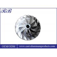 Buy cheap Investment Casting Stainless Steel Impeller Lightweight 7.93g/Cm3 Density from wholesalers