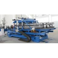 DWC 50-200mm HDPE/PP Double Wall Corrugated Pipe Extrusion Line Manufactures