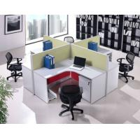 Buy cheap Eco-Friendly Corrugated Cardboard Furniture Four People Workstation Desktop Partition from wholesalers