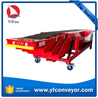 Wholesale 40ft Container Loading Unloading Telescopic Belt Conveyor from china suppliers