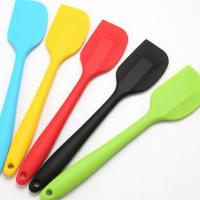 Buy cheap Bakery Equipment Silicone Baking Spatula , Non Fading Silicone Spatula Set from wholesalers