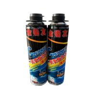 Buy cheap 600ml Polyurethane Foam Cleaner For Removing Uncured Pu Foam Good Dissolving product