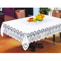 Buy cheap crocheted pvc table cloth from wholesalers