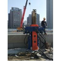 Buy cheap Suitable For 300mm-700mm H-Beam Piles Hydraulic Pile Pulling Machine from wholesalers