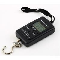 Wholesale 40kg/10g Portable Hanging Electronic Weighting Scale Black from china suppliers