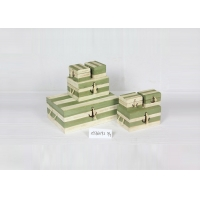 Buy cheap Light Green White 41x37x55cm Jewelry Wooden Box Cabinet from wholesalers