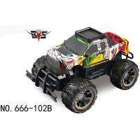 Buy cheap Classic Electric Remote Control Toy Car Wireless off-road Climbing Vehicle RC Toy Car for Children Play 666-102B from wholesalers