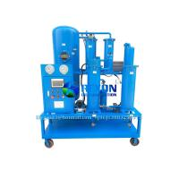 Buy cheap Vacuum Lubricating Oil Filter and Dehydration Purifier Machine 1800 Liters/Hour from wholesalers