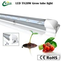 Buy cheap 20W Led Grow Tube 1.2m length T8 led grow light for hydroponics culture plant R660:b460:W from wholesalers