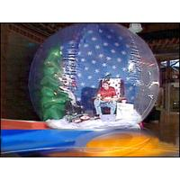 Buy cheap Christmas Holiday Decoration Inflatable Snow Globe Bubble Tent from wholesalers