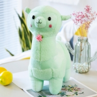 Buy cheap 40cm Plush Alpaca Stuffed Toy With Polypropylene Cotton Filling from wholesalers