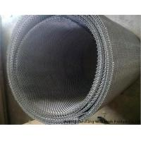Strong Structure 304 / 316 SS Square Weave Wire Mesh Screen For Petroleum Manufactures