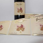 Buy cheap mini wine bottle label stickers,personalised stickers for wine bottles,decal stickers for wine glasses,mini wine sticker from wholesalers