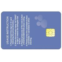 China ATMEL 24C256 Series Contacted Smart Card For Hotel Key Card on sale