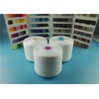 Buy cheap OEKO-TEX Plastic Cone Raw White Spun Polyester Yarn 100% Polyester Sewing Thread 40/2 50/3 from wholesalers