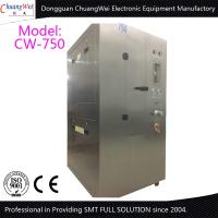 All SUS304 Stainless Steel smt cleaning equipment Pneumatic Stencil Cleaner Manufactures