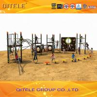Buy cheap Physical Activity Kids Play Equipment Outdoor Abrasion Resistant Rope Bridge And Climbing Wall product