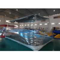Wholesale Fireproof PVC Tarpaulin Bubble Tent Night Inflatable For Car Cover / Car Capsule from china suppliers