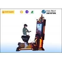 Wholesale Adult / Kids 9D VR Shooting Game Machine , Arcade Games Horse Riding Simulator from china suppliers
