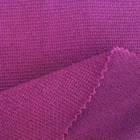 Buy cheap Polyester Fabric, Viscose Span Fabric with Dobby Look, Weighs 415gsm from wholesalers